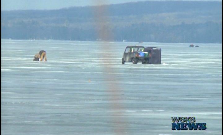 Hubbard lake fishing tournament draws record numbers wbkb11 for Hubbard lake mi fishing
