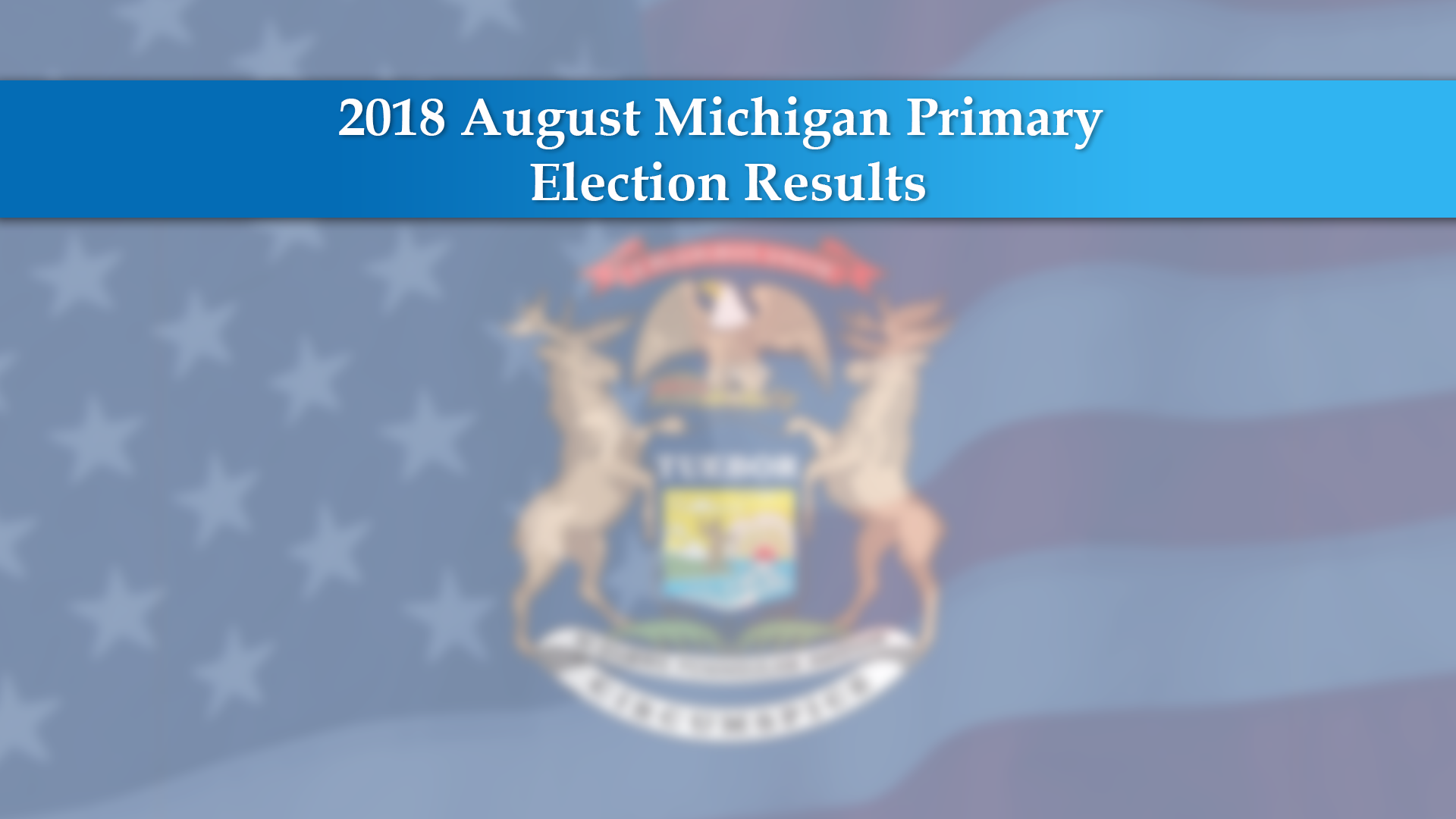 Alpena County August Primary Election Results 2018 - WBKB11