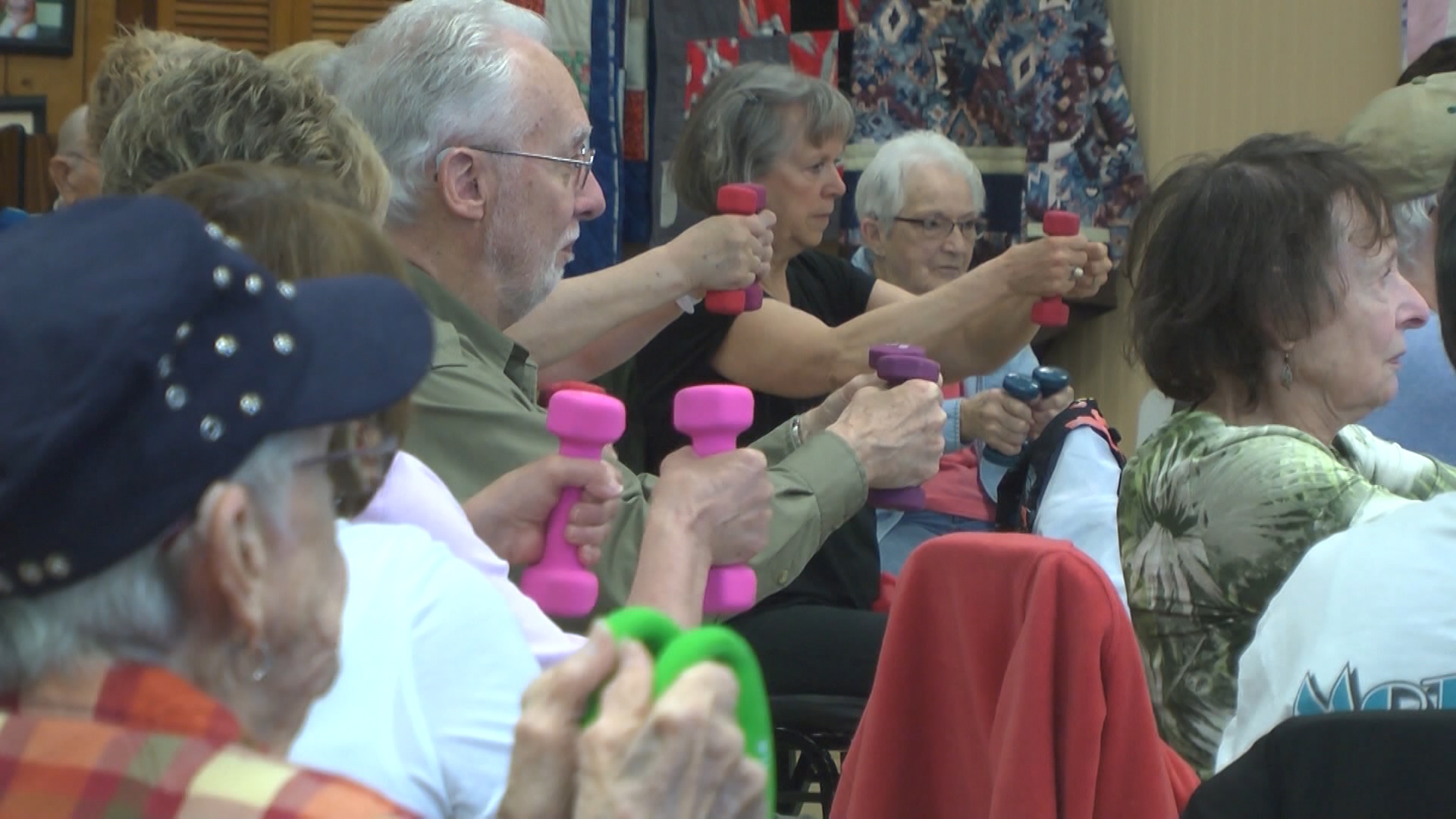 Senior Living Staying Healthy And Active Through Exercise Wbkb 11